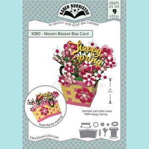 karen Burniston - Woven Basket Pop-up Die Set
