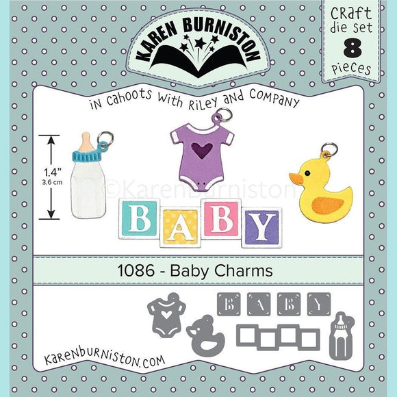 karen Burniston - Baby Charms Die Set