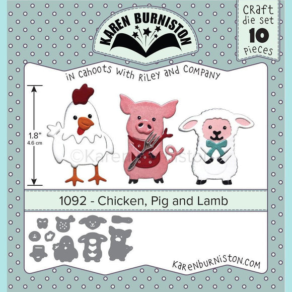 Karen Burniston - Chicken, Pig and Lamb Die