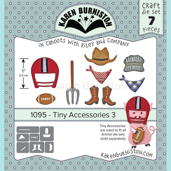Karen Burniston - Tiny Accessories 3 Die