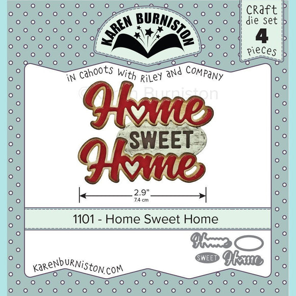 Karen Burniston - Home Sweet Home Die