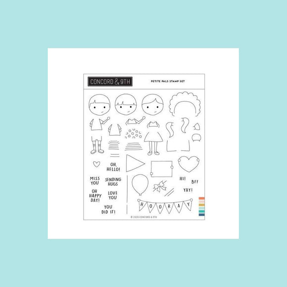 Concord & 9th - Petite Pals - Stamp Set