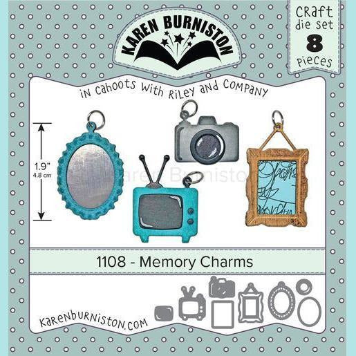 Karen Burniston - Memory Charms Die