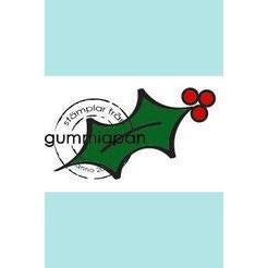 Gummiapan Small Holly stamp