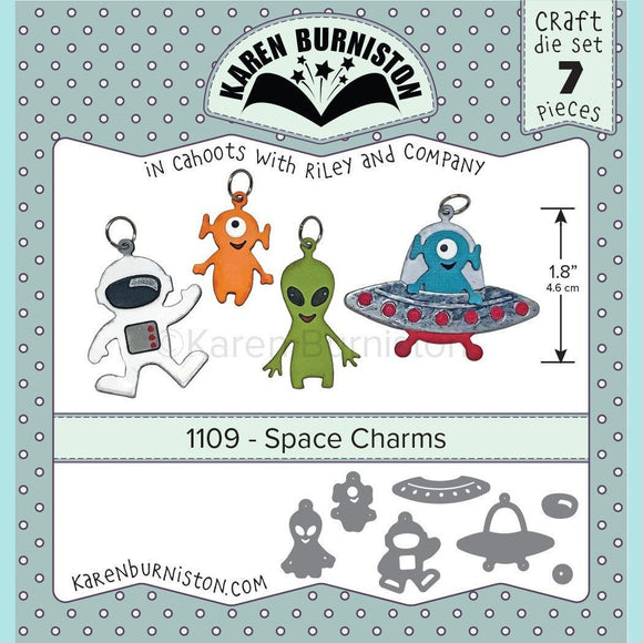 Karen Burniston - Space Charms Die