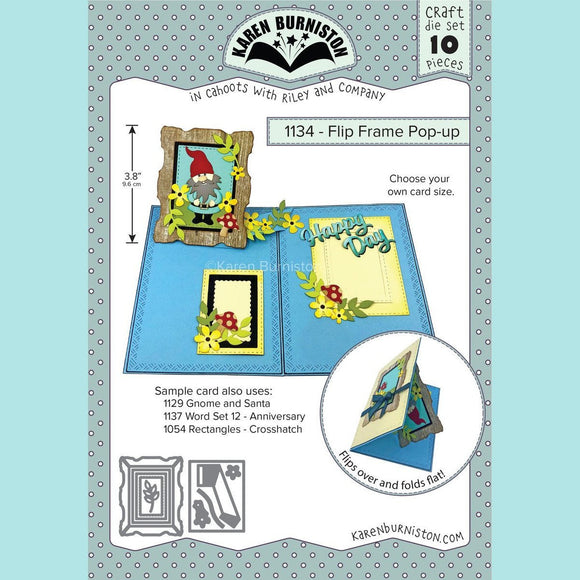 Karen Burniston - Flip Frame Pop-Up Die Set