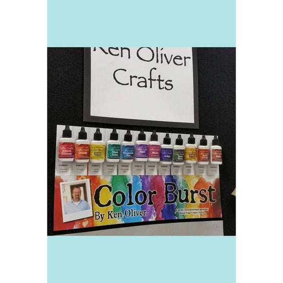 Ken Oliver Color Burst Powder - Water Colour Powder