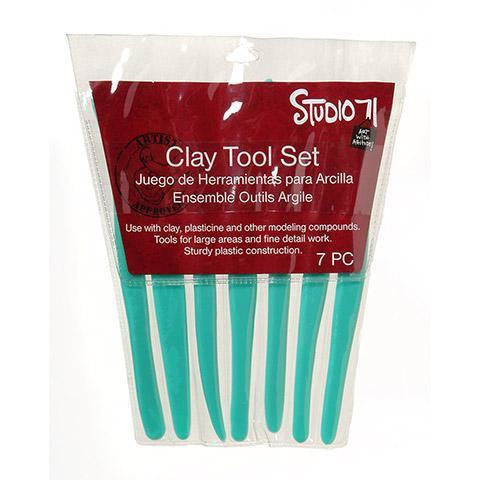 Darice® Clay Tool Set - Plastic - 7 Pieces