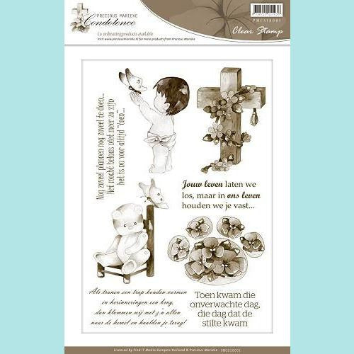 Find It Trading - Precious Marieke - Condoleance Clear Stamp
