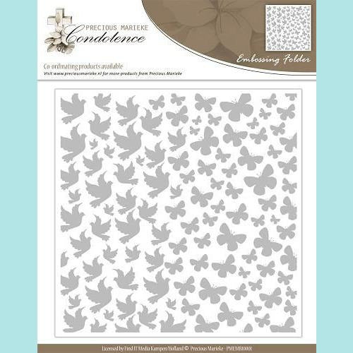 Find It Trading - Precious Marieke - Condolence Embossing Folder