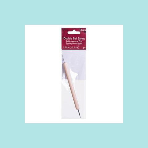 Darice Broad Point Tracing Stylus - Double End - Wood Handle