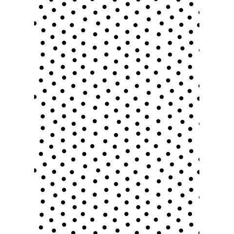 Embossing Folder - Dot Background