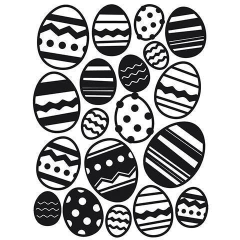 Darice® Embossing Folder - Easter Egg