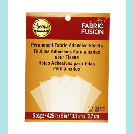 Aleene's Fabric Fusion Peel & Stick Sheets