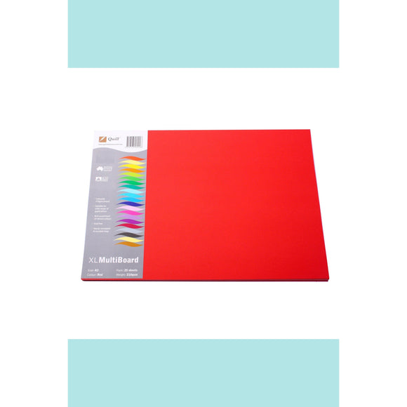 Quill XL Board 210gsm A3 25 Pack Card Stock