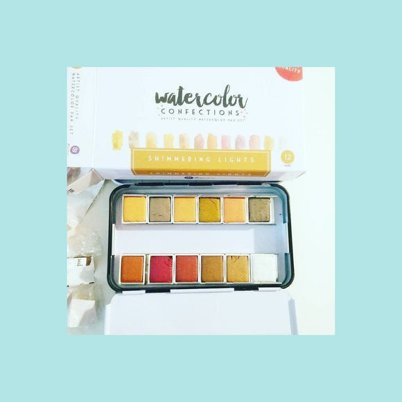 Prima Marketing Watercolor Confections - Shimmering Lights
