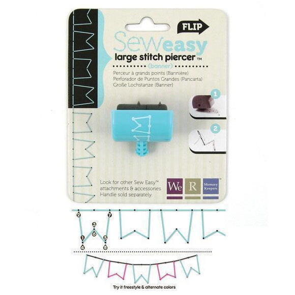 We R Memory Keepers - WRMK - Seweasy Stitch Piercer Large (Banner)