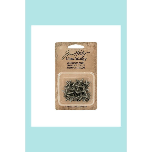 Tim Holtz - Idea-ology - Adornment Stars - 27 stars