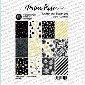 Paper Rose - Festive Basics - A5 24pc Paper Pack