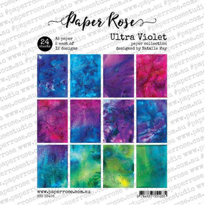 Paper Rose - Ultra Violet - A5 24pc Paper Pack