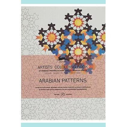 Arabian Patterns : Artists' Colouring Book