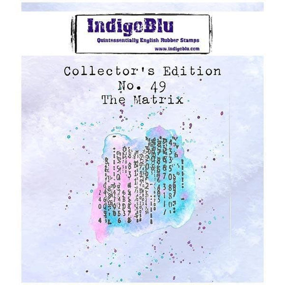 IndigoBlu - The Matrix Collector's Edition No.49 Red Rubber Stamp by Asia Marquet