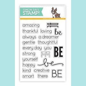Simon Says Stamp - Be Sentiments Stamps