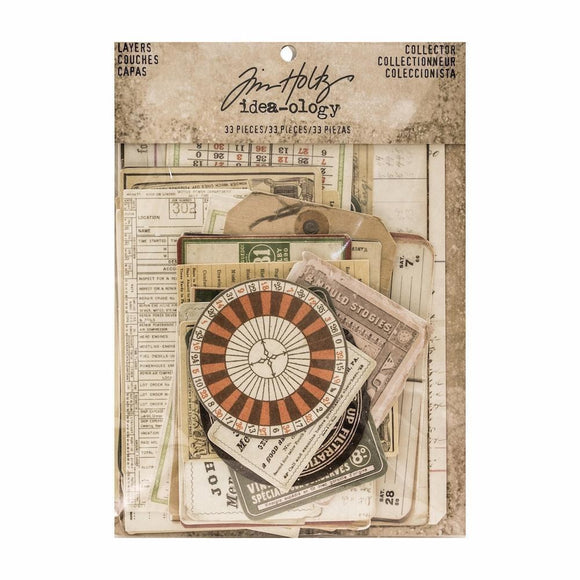 Tim Holtz Idea-ology - Collector Ephemera Layers Paperie