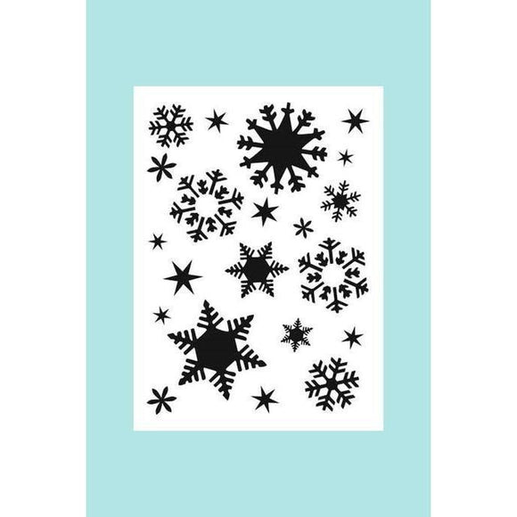 TCW - The Crafters Workshop A7 Flakes - Stencil