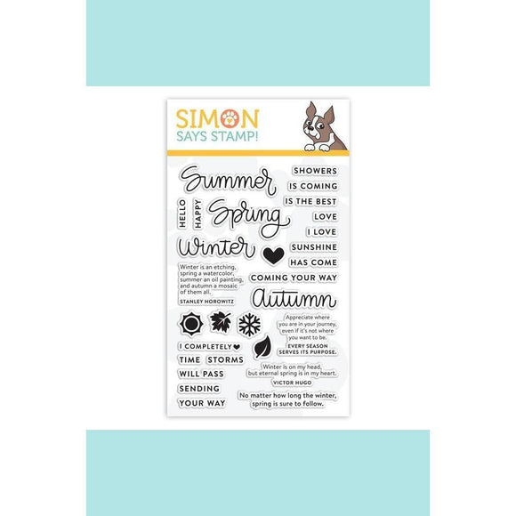 Simon Says Stamp - Four Seasons Sayings Stamp