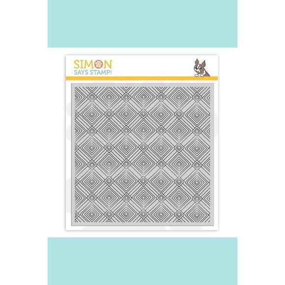 Simon Says Stamp - Deco Diamonds Background Stamp