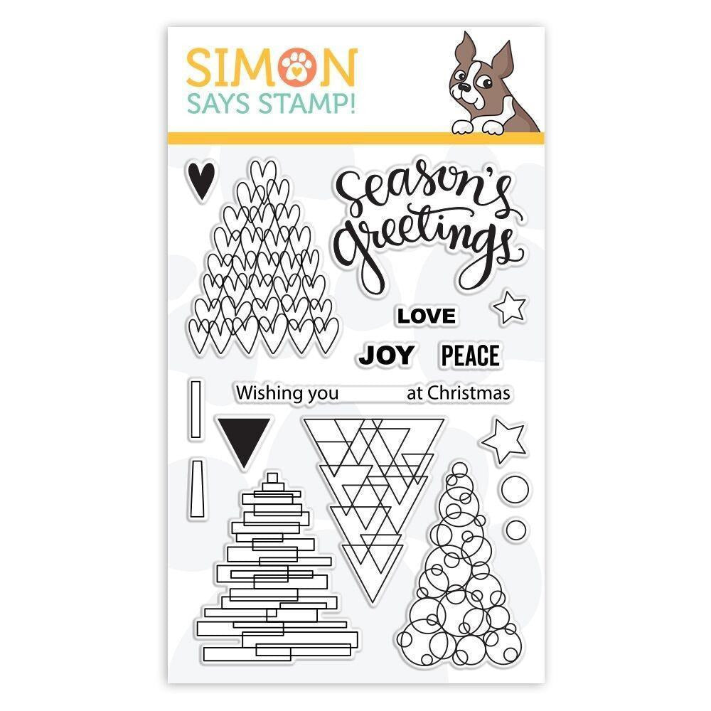 Simon Says Stamp - Clear Stamps Festive Trees