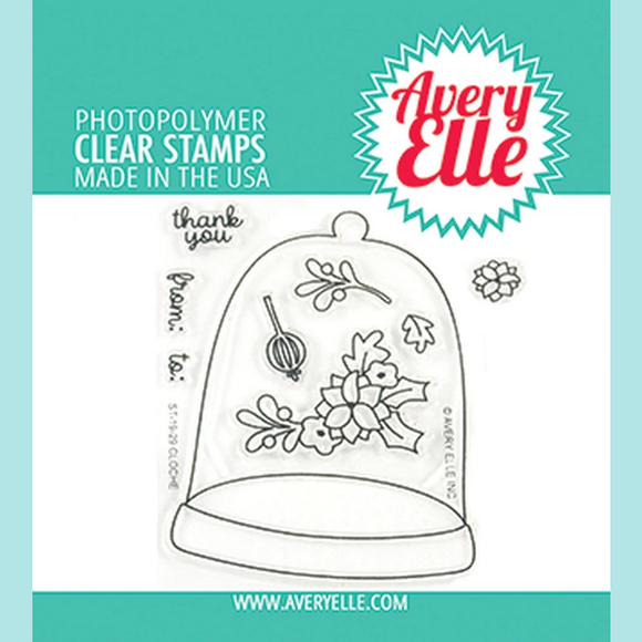 Avery Elle - Cloche Clear Stamps and Die