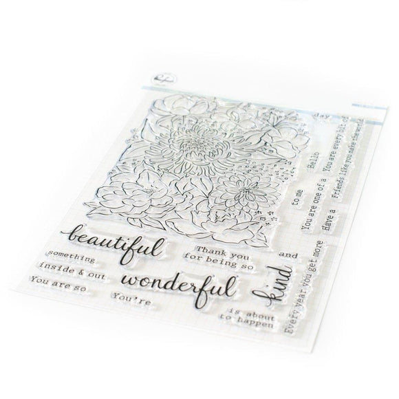 Pinkfresh Studio - Flower Garden Stamp