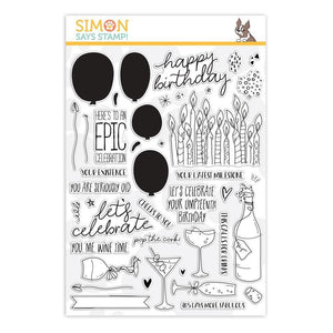 Simon Says Stamp - Celebrate Stamp and Die