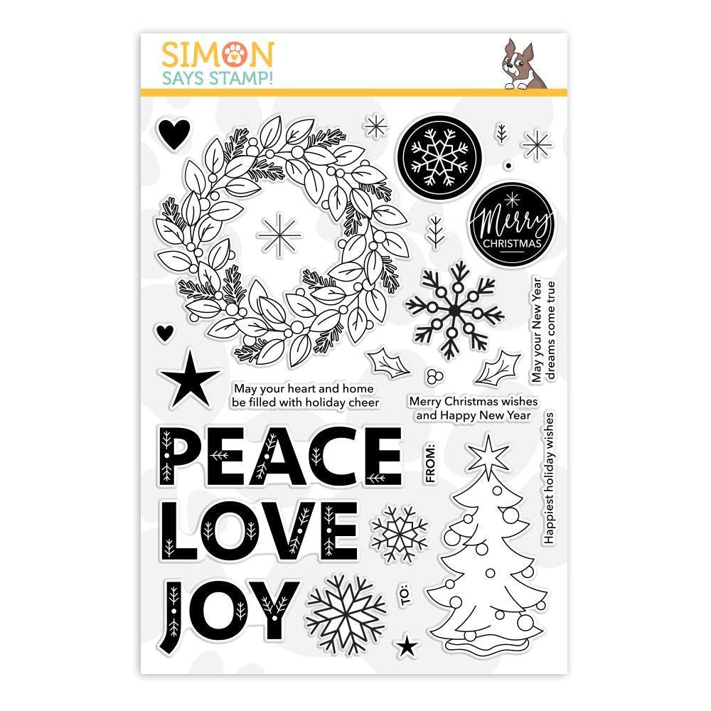Simon Says Stamp - Clear Stamps Holiday Cheer