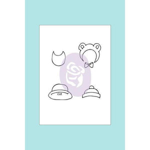 Prima Marketing - Julie Nutting Baby Hat and Bib Stamp Set