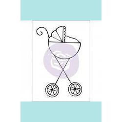 Prima Marketing - Julie Nutting Baby Stroller Stamp Set
