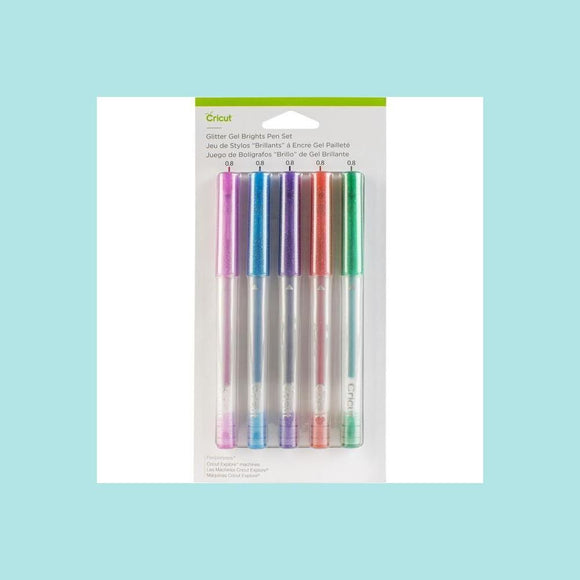 Cricut Glitter Gel Pen Set - Brights