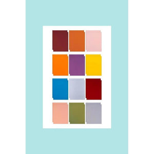 Altenew - 2017 Colored  Card Stock Sampler