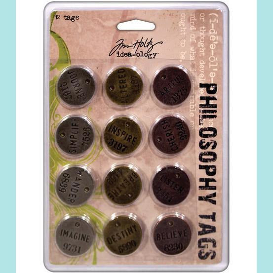 Tim Holtz -   Philosophy Tags