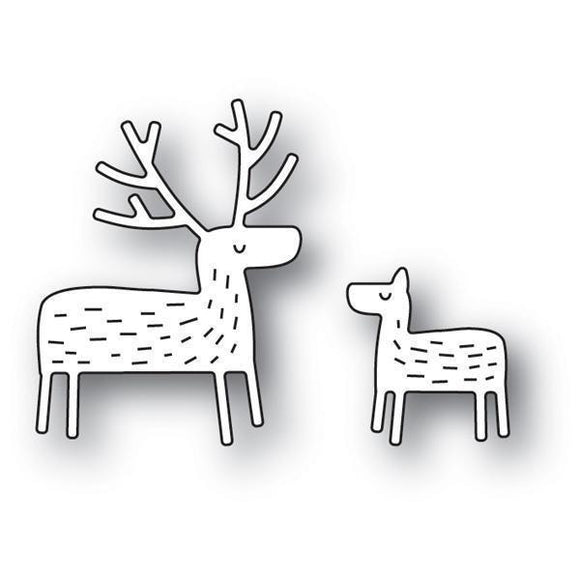 Poppystamps - Whittle Deer Craft Die