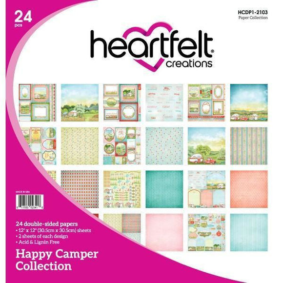Heartfelt Creations - Happy Camper Paper Collection