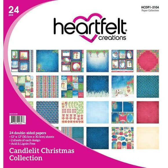 Heartfelt Creations - Candlelit Christmas Paper Collection