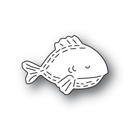 Poppystamps - Whittle Fish Craft Die