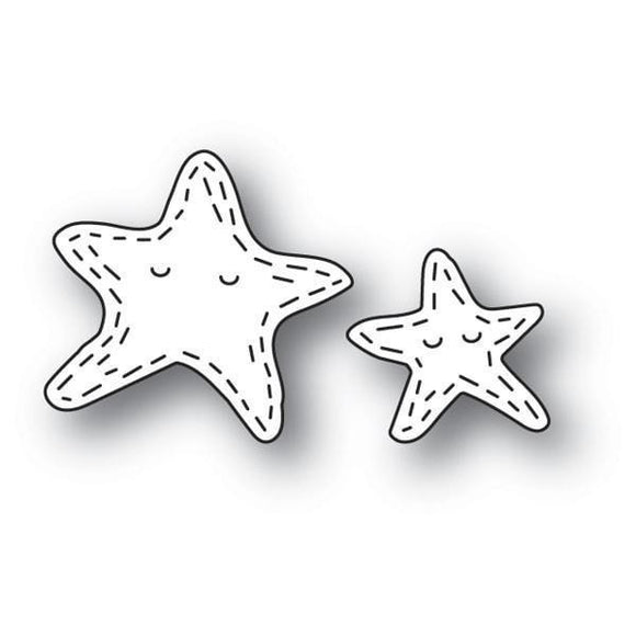 Poppystamps - Whittle Starfish Craft Die