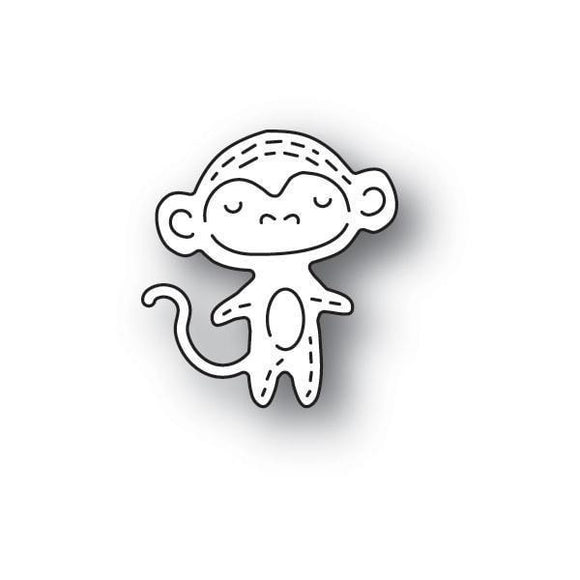 Poppystamps - Whittle Monkey Craft Die