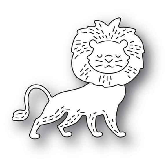 Poppystamps - Whittle Lion Craft Die