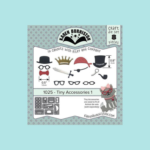 Karen Burniston - Tiny Accessories 1 Die Set