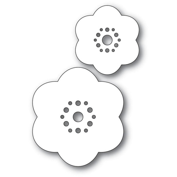 Poppystamps - Rounded Bloom Flowers Craft Dies